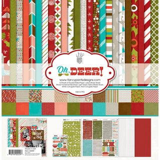 "Fancy Pants Designs Collection Kit 12""X12""-Oh, Deer!"
