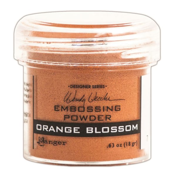 Wendy Vecchi Embossing Powders 1oz-Orange Blossom