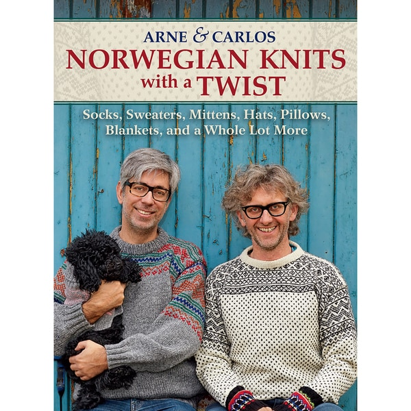 Trafalgar Square Books-Norwegian Knits W/A Twist