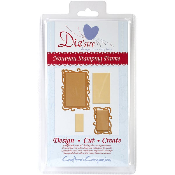 Die'sire Cutting Die-Nouveau Stamping Frame