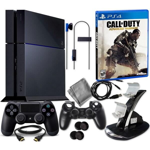 PlayStation 4 500GB with COD Advanced Warfare & 8 in 1 Kit