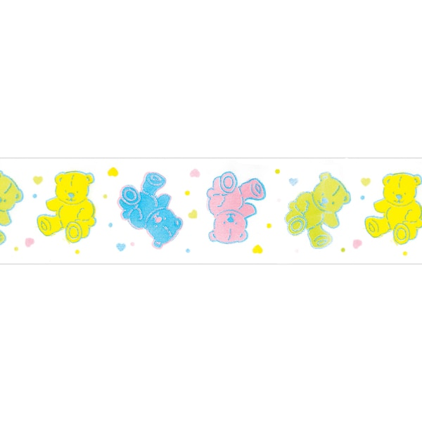 "Baby Bear Ribbon 1-1/2""X9'-Multicolor"