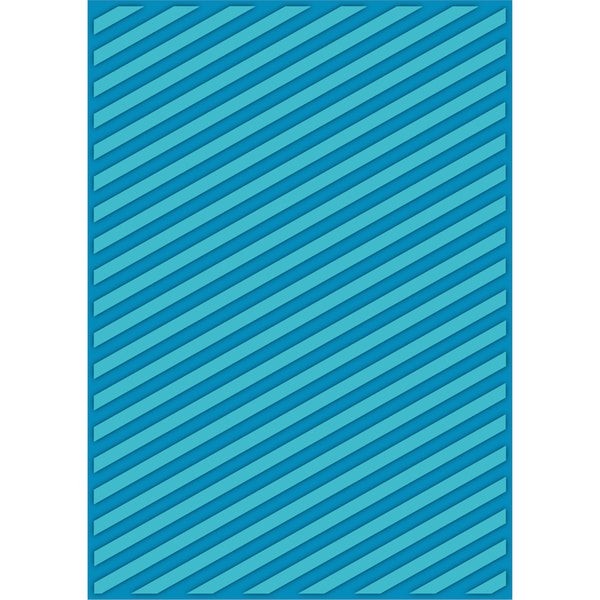eBosser Embossing Folders Letter Size By Teresa Collins-Modern Stripe