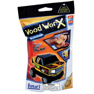 Wood WorX Kit-Monster Truck