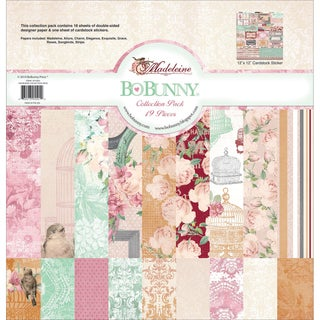 Madeleine Collection Pack 12X12in
