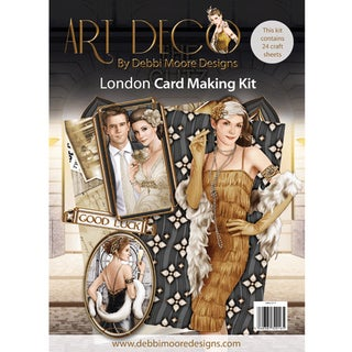Debbi Moore Art Deco Card Kit-London
