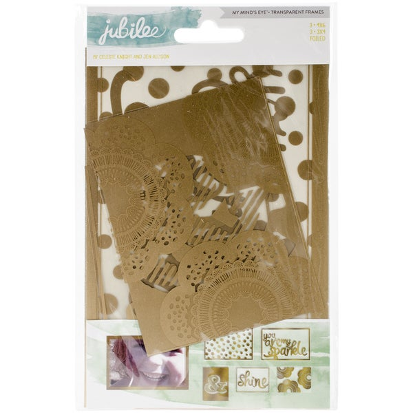 Jubilee Mint Julep Transparency Decorative Frames-Live It Up