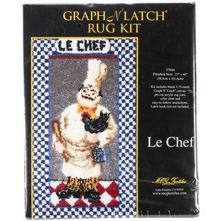 "Latch Hook Kit 23""X40""-Le Chef"