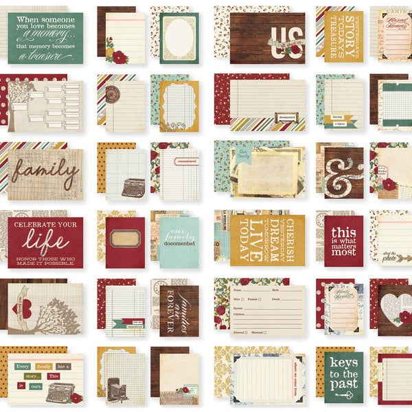 "Sn@p! Double-Sided Cards 4""X6""-Legacy"
