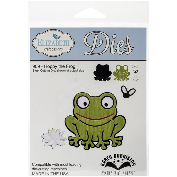 Elizabeth Craft Metal Die-Hoppy The Frog