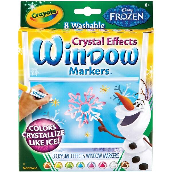 Crayola Disney FX Bold Line Markers-Frozen Colors 8/Pkg 14156630