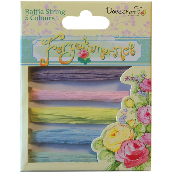 Forget-Me-Not Raffia String