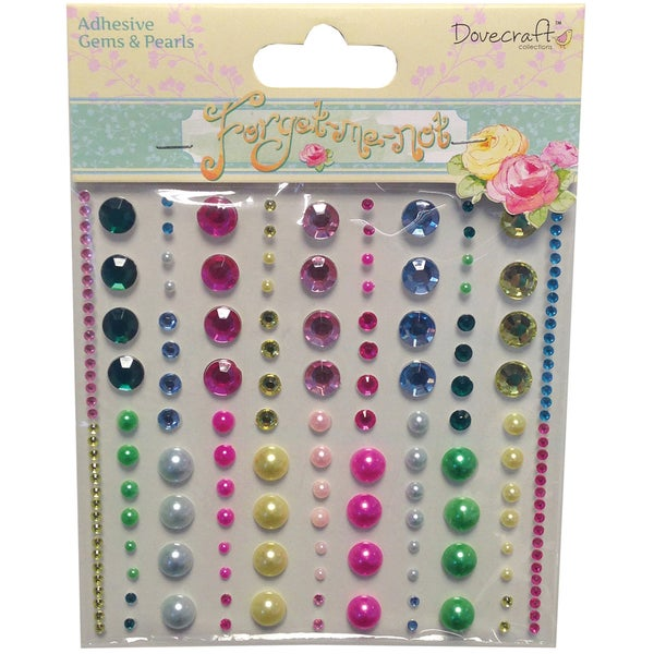 ForgetMeNot SelfAdhesive Gems & Pearls