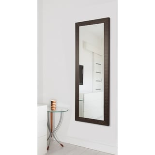 American Made Rayne Espresso Bricks 25 x 63-inch Full Body Mirror