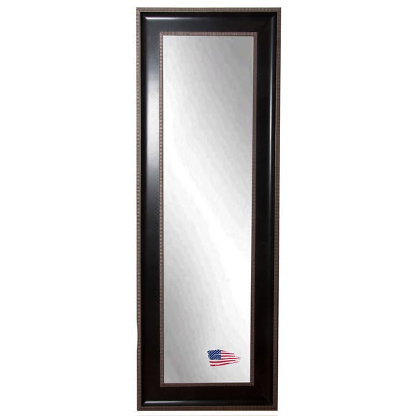 American Made Rayne Modern Black Cage 28.75 x 66.75 Full Body Mirror