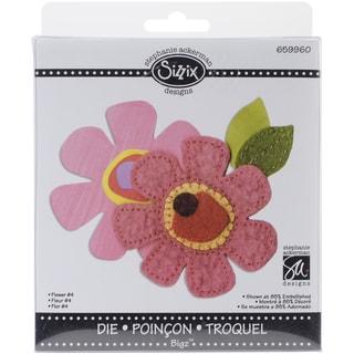 "Sizzix Bigz Die 5.5""X6""-Flower #4"