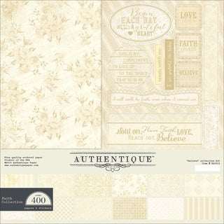 "Authentique Collection Kit 12""X12""-Faith"