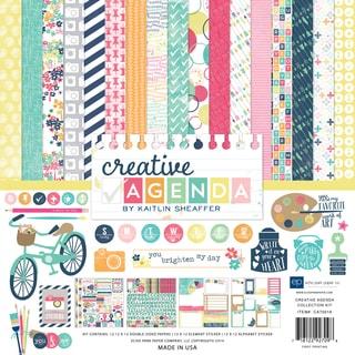 "Echo Park Collection Kit 12""X12""-Creative Agenda"