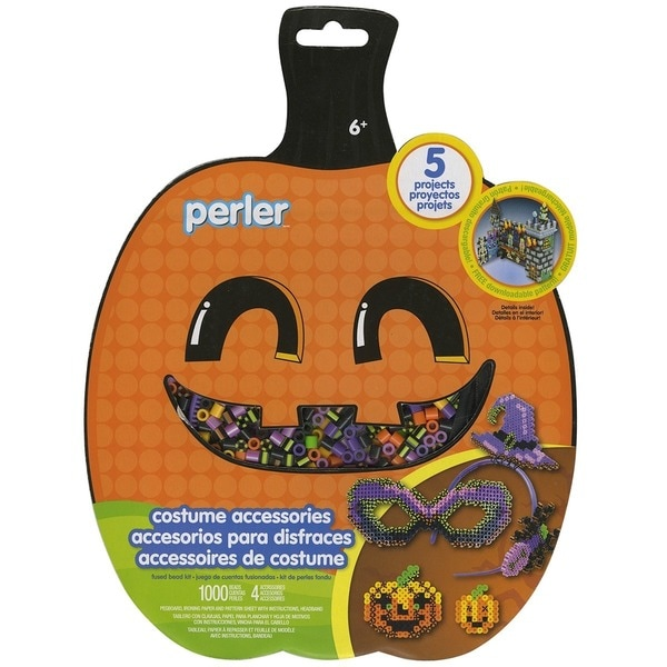 Perler Fun Fusion Fuse Bead Activity Kit-Costume Accessories