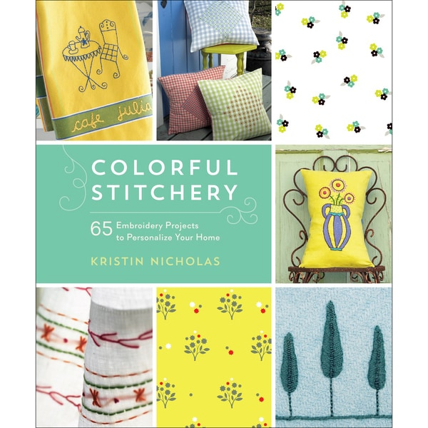 Roost Books-Colorful Stitchery