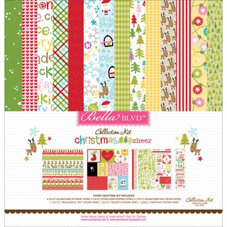 "Bella Blvd Collection Kit 12""X12""-Christmas Cheer"