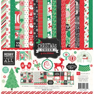 "Echo Park Collection Kit 12""X12""-Christmas Cheer"
