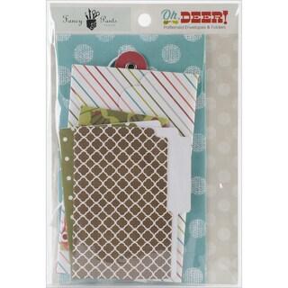 Oh, Deer! Patterned Envelopes & Folders 6/Pkg