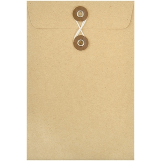 "Kraft Envelopes 4""X6"" 5/Pkg"