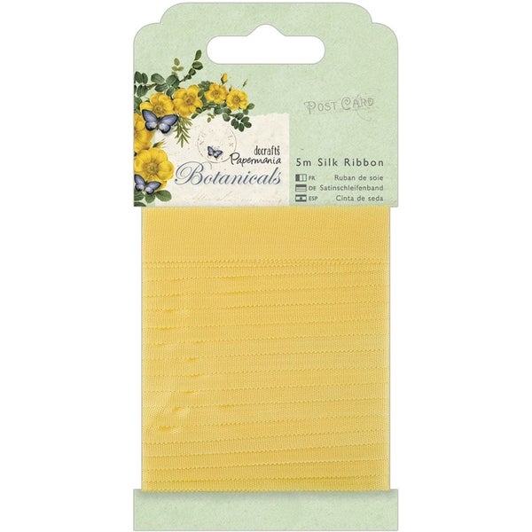 Papermania Botanicals Silk Ribbon 5m