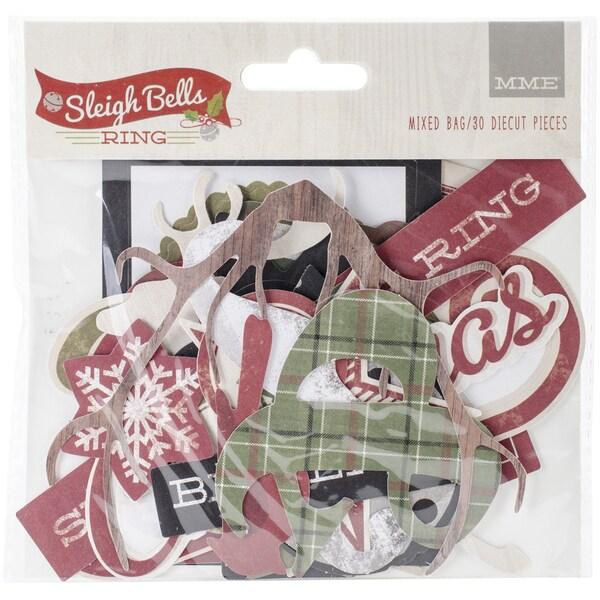 Just Sayin' Mixed Bag Cardstock DieCuts 31/Pkg