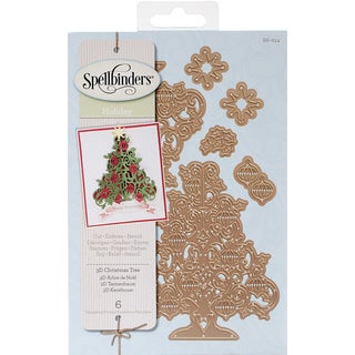 Spellbinders Shapeabilities Dies-3D Christmas Tree