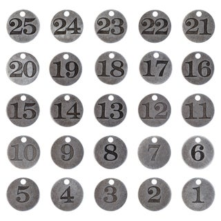 IdeaOlogy Countdown Coins 25/Pkg
