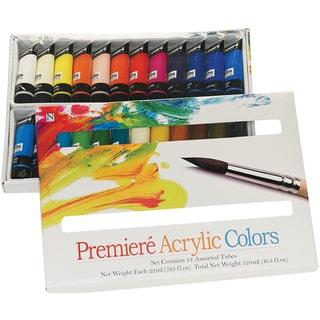 Premiere Acrylic Paint Set-22ml 24/Pkg