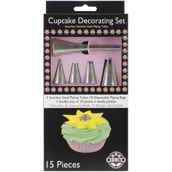 Cupcake Decorating Set 15pc