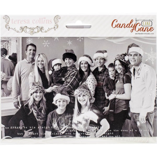 Candy Cane Lane Photo Overlays 10/Pkg