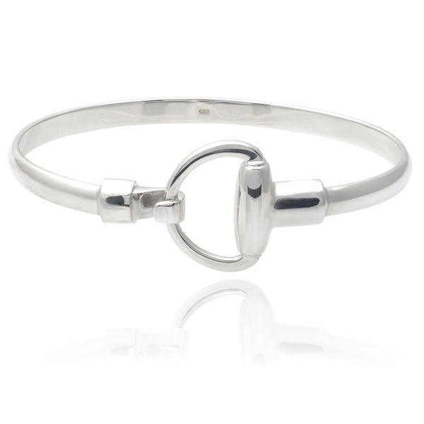 Tressa Collection Sterling Silver Snaffle Bit Bracelet