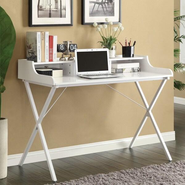 Contemporary Computer Desk 16710845 Overstock Shopping