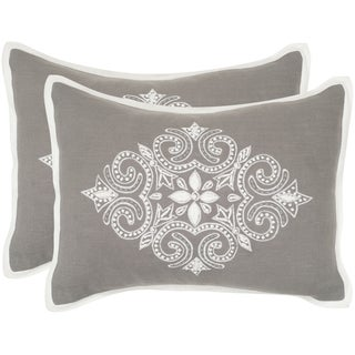 Safavieh Regina Sterling 12 x 20-inch Throw Pillows (Set of 2)