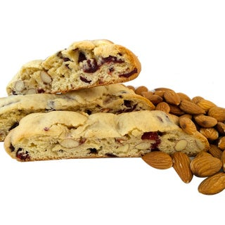 Made-to-order Fresh Cranberry Almond Biscotti Gift Set
