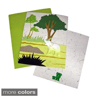 Mr. Ellie Pooh Hand-crafted Designer Card (Sri Lanka)