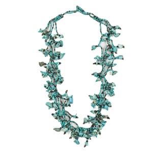 Turquoise Vine Necklace (Guatemala)