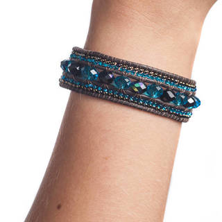 Jewel Bracelet with Magnetic Closure (Guatemala)