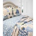 Slumber Shop Bethany 3-piece Reversible Quilt Set