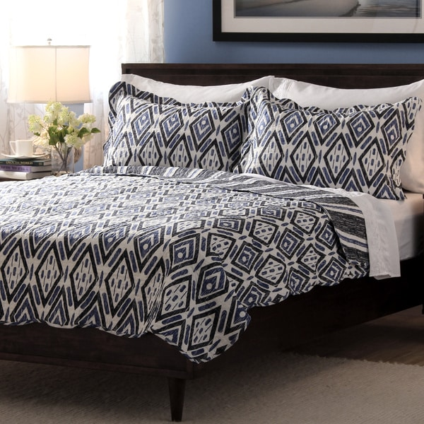 Slumber Shop Hayden 3-piece Reversible Quilt Set