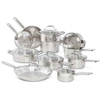 T-Fal Elegance Stainless Steel 18-piece Set