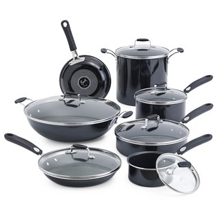 Emeril By All-Clad Hard Enamel Black 13-piece Set