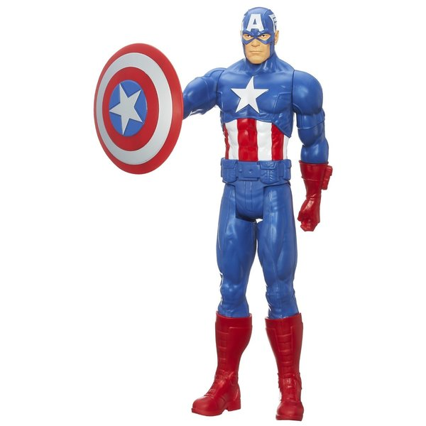 Avengers 12-inch Titan Hero Captain America Action Figure 14159856