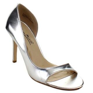 Anee Michelle Rapture-89 Women's Asymmetric Open-toe Pumps