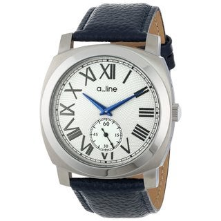 A Line Women's AL-80023-02-D-BU Pyar Silver Watch