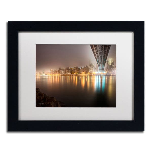 David Ayash 'Fog Under the Queensborough Bridge' Matted